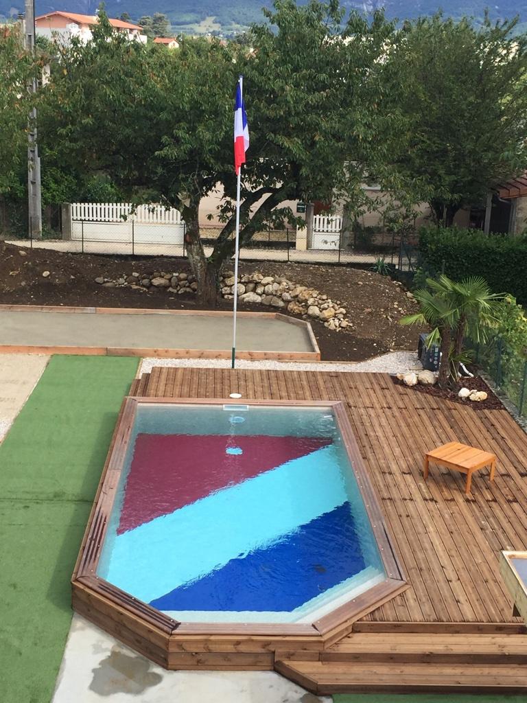 Pose pvc arm piscines coques for Pvc arme piscine couleur